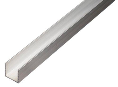 Perfiles de aluminio comprar online barato en - Perfil de aluminio en u ...